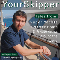 YourSkipper Podcast - with superyacht captains and professionals podcast