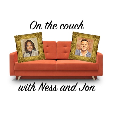 On the couch with Ness and Jon