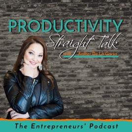 Apple Podcast 上的《Productivity Straight Talk》