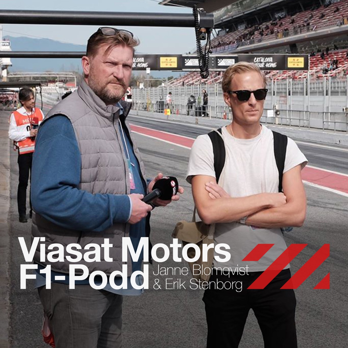 Viaplays F1-podcast