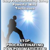 Stop Procrastinating Now podcast