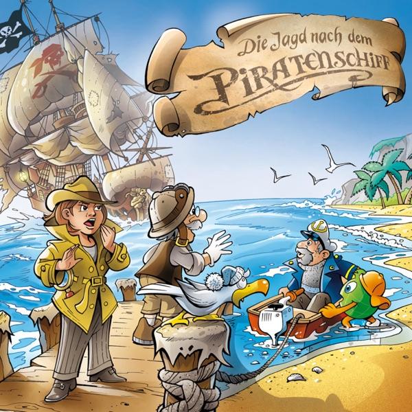 Professor Globus und die Jagd nach dem Piratenschiff