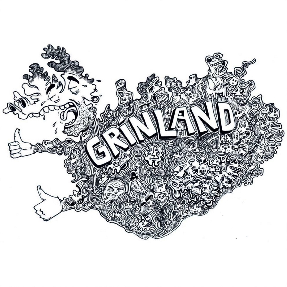 Grínland - Jóhann Alfreð