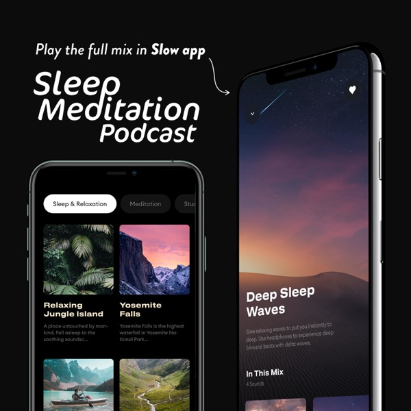 List item Sleep Meditation Podcast - ASMR Sleep Triggers - Calm Nature Sounds and Relaxing Music image
