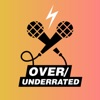 Over/underrated: a music podcast with Fran and Babs artwork