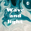 Wave and light artwork