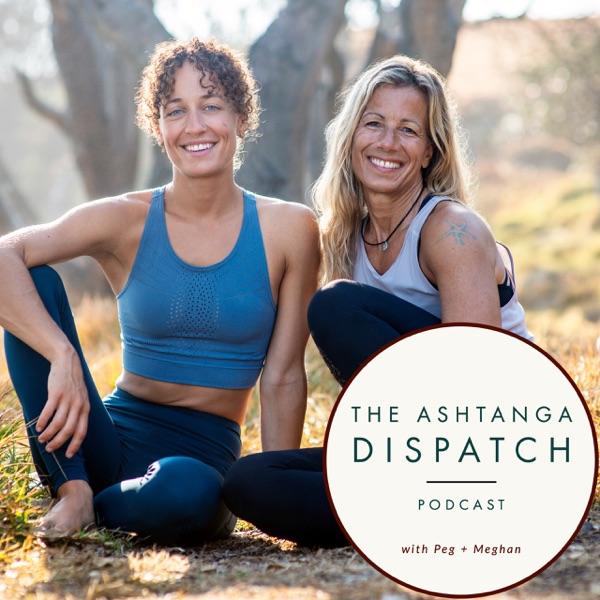 Ashtanga Dispatch Podcast banner backdrop