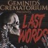 Geminids Crematorium Presents: Last Words artwork