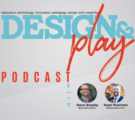 Cover image of Design and Play Podcast