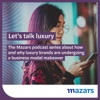 Let's talk luxury. The Mazars podcast series about how and why luxury brands are undergoing a business model makeover artwork
