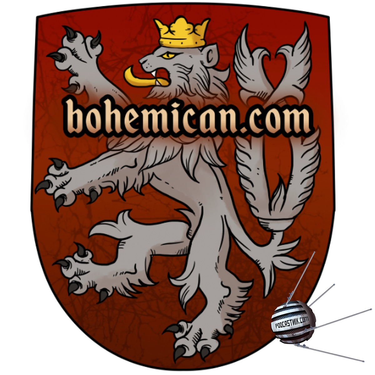 Flight Over Bohemia