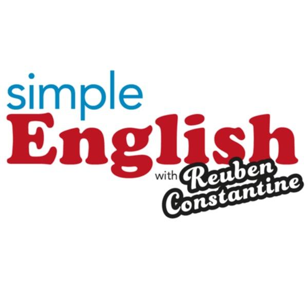 Simple English with Reuben Constantine Artwork