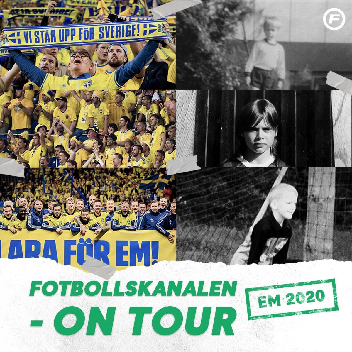 Fotbollskanalen on tour - EM 2020