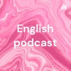 English podcast artwork