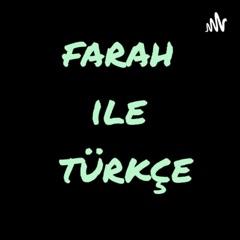 farah ile türkçe تعلم اللغة التركية مع فرح