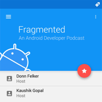 Podcast cover art of Fragmented - Android Developer Podcast