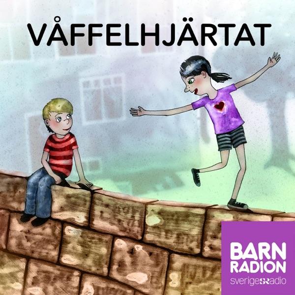 Våffelhjärtat i Barnradion