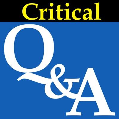 Critical Q&A:Critical Q&A