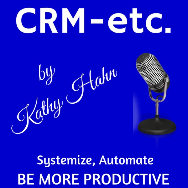 CRM-etc. Podcast with Kathy Hahn | CRM | Ecommerce | Online Tools