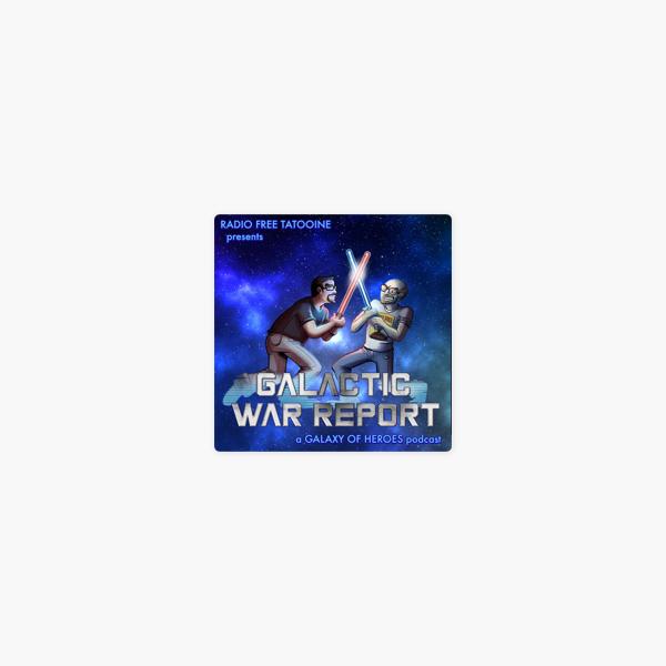 Galactic War Report - Star Wars Galaxy of Heroes news