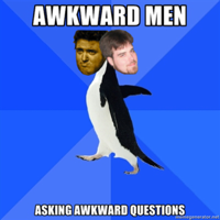 Awkward Men Asking Awkward Questions podcast