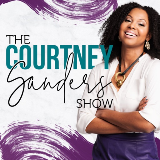 Cover image of The Courtney Sanders Podcast