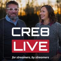 CRE8 LIVE podcast