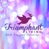 Triumphant Living with Beth Stewart Ministries artwork