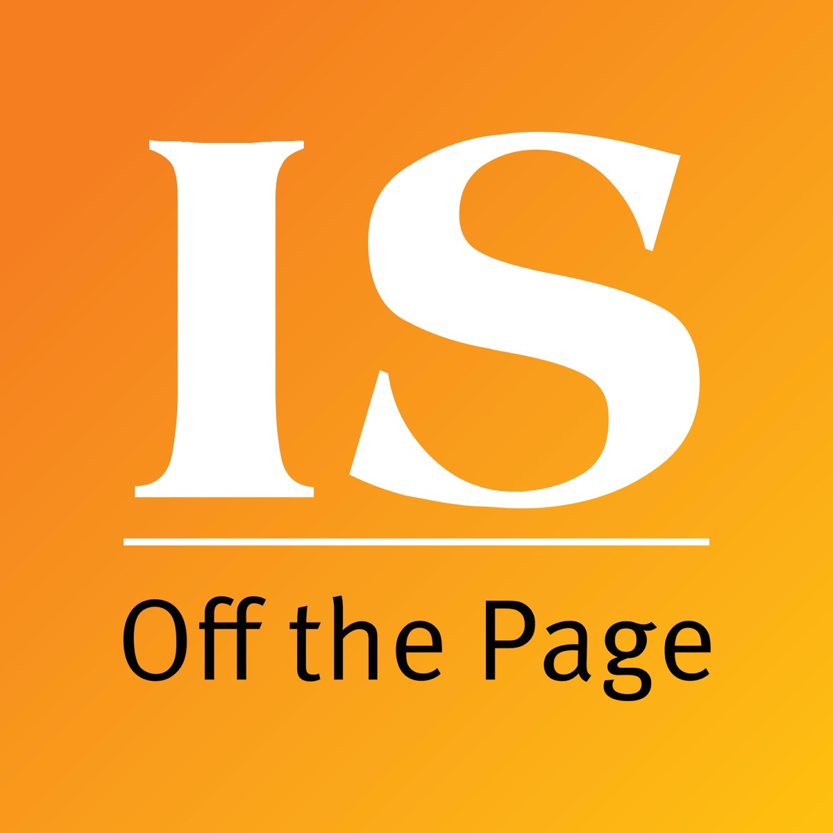 IS: Off the Page