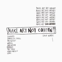 Make Art Not Content podcast