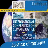 Conférence Justice Climatique International Conférence Climate Justice podcast