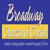 Broadway church of Christ's Podcast artwork