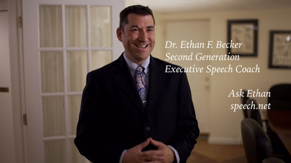 Dr. Ethan Becker, speech coach