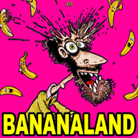 Podcast cover art for BANANALAND with Bob Rubin