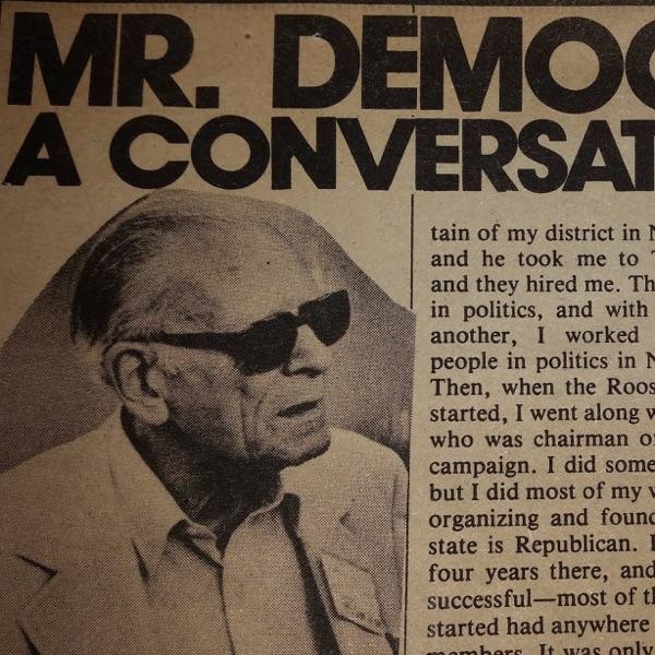 Mr. Democrat