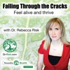 Falling Through the Cracks: Feel alive and thrive artwork