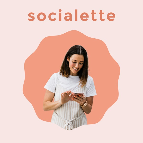 Socialette: Bite-Sized Online Marketing Podcast podcast show image