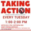 WPFW - Taking Action artwork