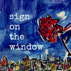 Sign on the Window