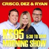 Crisco, Dez & Ryan on KS95 artwork