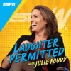 Laughter Permitted with Julie Foudy artwork