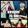 K100 w/ Konnan & Disco artwork