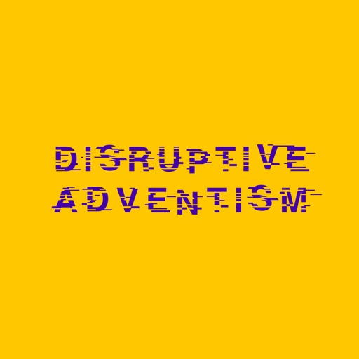 Cover image of Disruptive Adventism