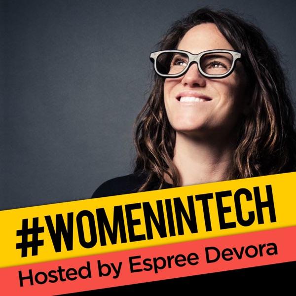 Women in Tech Podcast, hosted by Espree Devora Icon