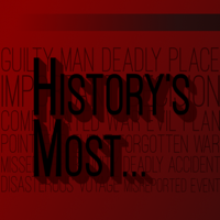 Podcast cover art for History's Most