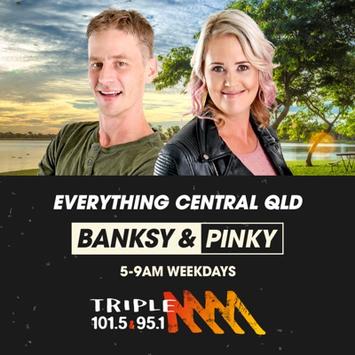 Banksy and Pinky - Triple M Central Queensland:Triple M Central Queensland