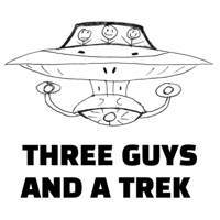 Three Guys and a Trek - Trekking through Star Trek: The Next Generation podcast