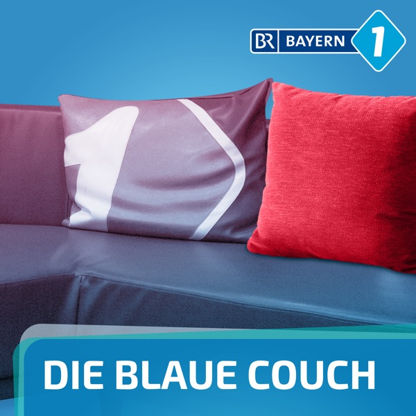 Blaue Couch