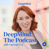 Podcast cover art for DeepMind: The Podcast
