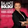 Balance Boldly for Ambitious Women in Business artwork